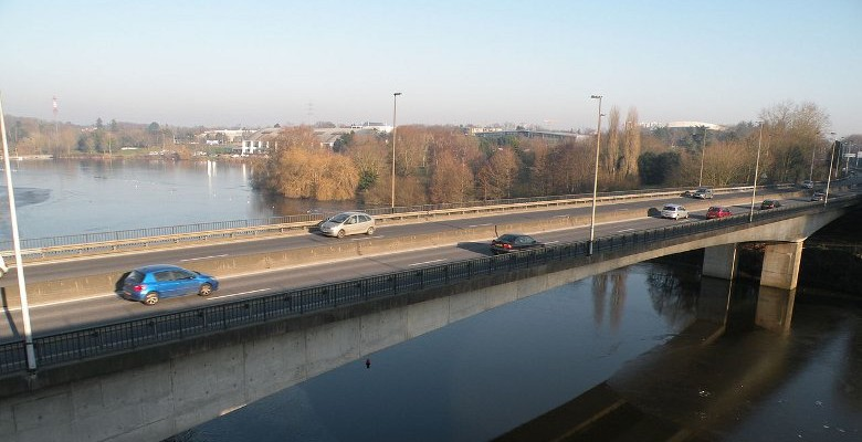 Nantes : le Pont de la Beaujoire fermé tout le week-end