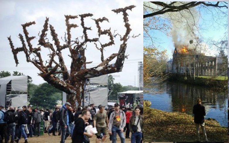 Important incendie au siège du festival Hellfest — Vendée
