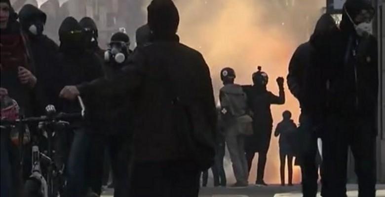 De gros dégâts à Nantes avant le meeting de Marine le Pen
